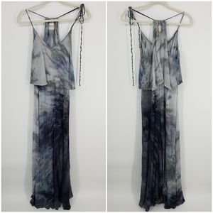 Gypsy 05 Silk Tie Dye Maxi Dress